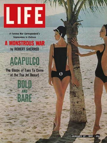 BATHING SUITS IN FASHION AT ACAPULCO