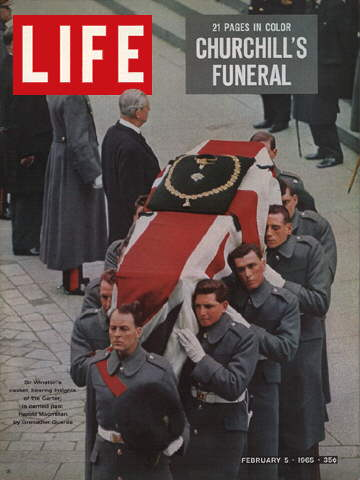 CHURCHILL'S CASKET