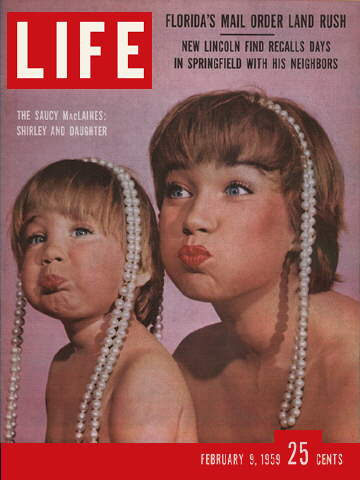 SACHIE AND SHIRLEY MACLAINE
