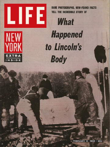 LINCOLN'S EXHUMATION