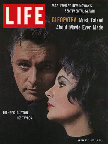 RICHARD BURTON AND ELIZABETH TAYLOR