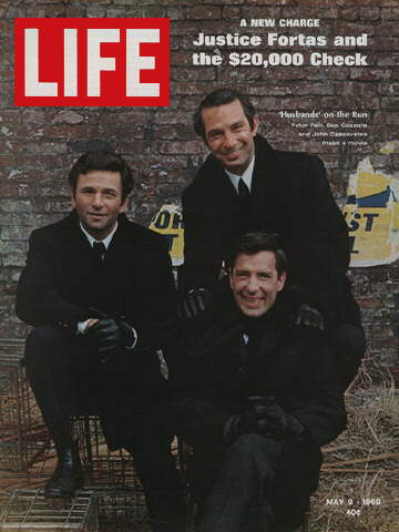 PETER FALK, BEN GAZZARA, AND JOHN CASSAVETES