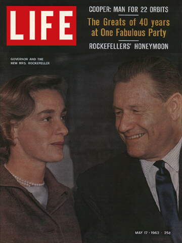 GOVERNOR NELSON AND HAPPY ROCKEFELLER