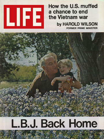 LYNDON B. JOHNSON BACK HOME