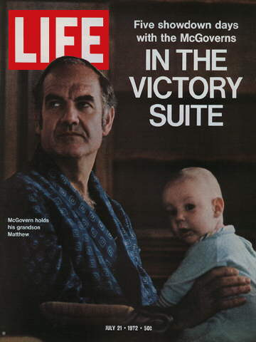 GEORGE MCGOVERN AND GRANDSON MATTHEW