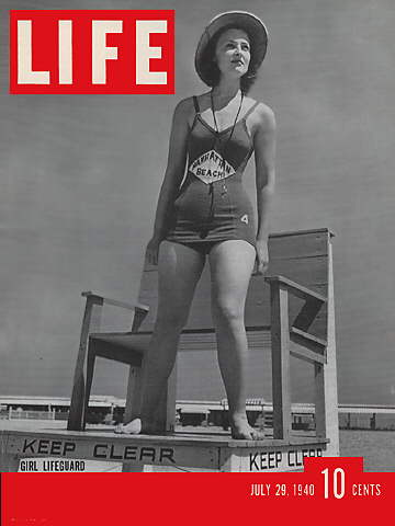 GIRL LIFEGUARD
