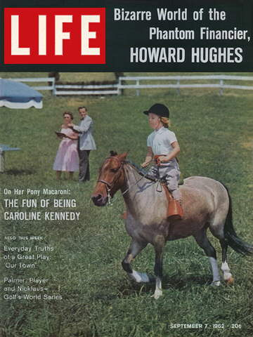 CAROLINE KENNEDY ON HER PONY