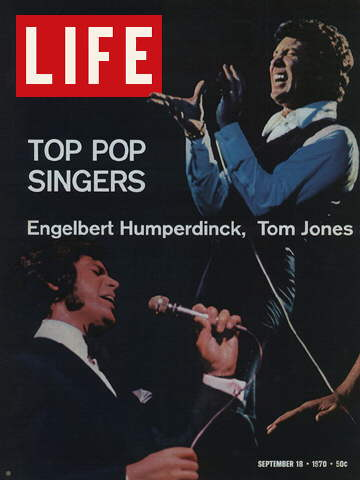 ENGELBERT HUMBERDINCK AND TOM JONES