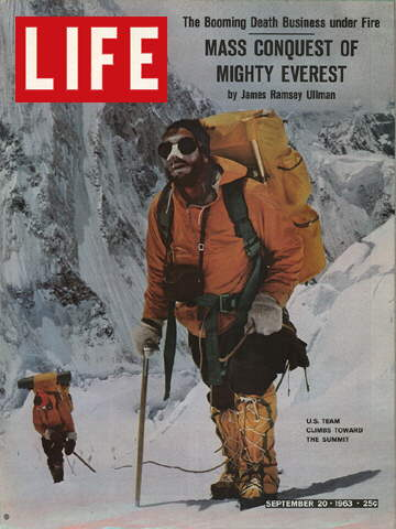 U.S. TEAM ON MT. EVEREST