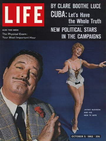 JACKIE GLEASON WITH SUE ANN LANGDON