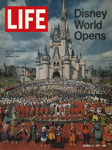 OPENING OF DISNEY WORLD