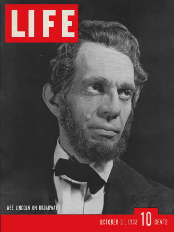 RAYMOND MASSEY AS LINCOLN