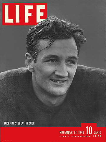 MICHIGAN'S TOM HARMON