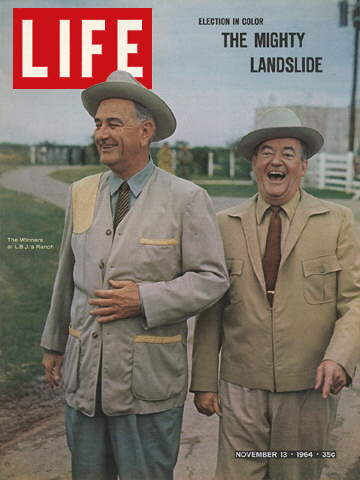 LYNDON B. JOHNSON AND HUBERT H. HUMPHRE.