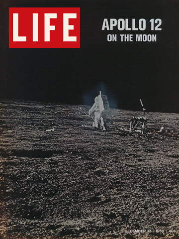 APOLLO 12 MOON WALK