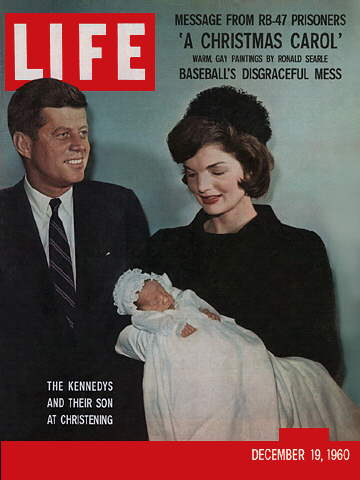 JOHN F. KENNEDY JR.'S CHRISTENING